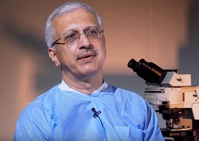 राष्ट्रीय यक्ष्मा अनुसंधान संस्थान के प्रभारी निदेशक डॉ. श्रीकांत प्रसाद त्रिपाठी
